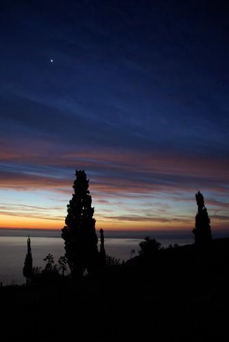 Sunrise at Megísti Lávra, Mt Athos 2007