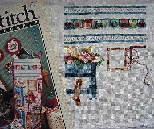 Stitcher's Studio stocking