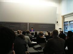 Sabine Breitsameter's Keynote - packed