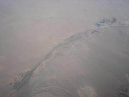 Earthquake fault line - global warming?