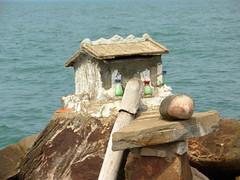 Stung Hau phallic shrine