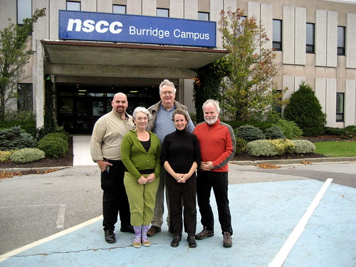 our posse goes to the burridge campus