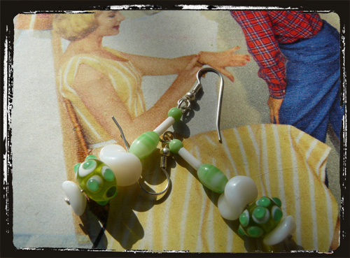 Orecchini fatti a mano - Handmade Earrings MEHCLM