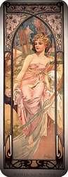Amanecer 1899. Alphonse Mucha.