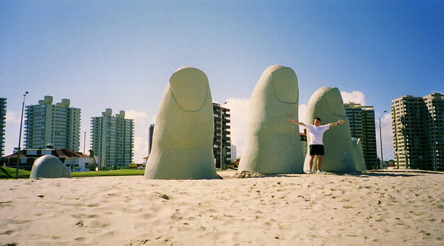 Hand In The Sand, Punta Del Este, Uruguay