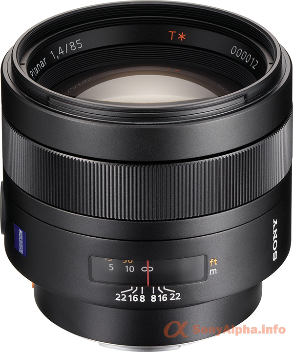 Sony SAL-85F14Z 85mm f1.4 Carl Zeiss Planar T Coated Telephoto
