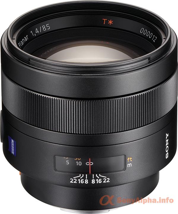 Sony SAL-85F14Z 85mm f1.4 Carl Zeiss Planar T Coated Telephoto