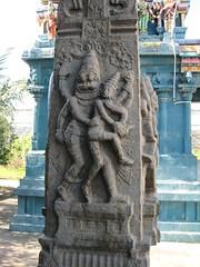 Maha Mandapa Sculpture - Lakshmi Narasimhar