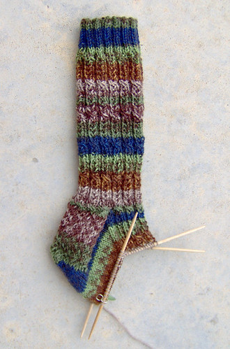 September Woods sock