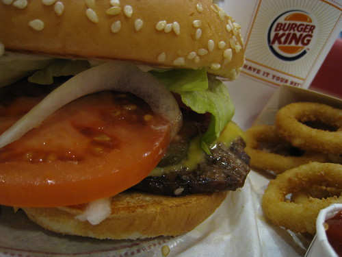Whopper with cheese by HAMACHI!.