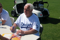 Dodgers Spring Training - Tommy Lasorda