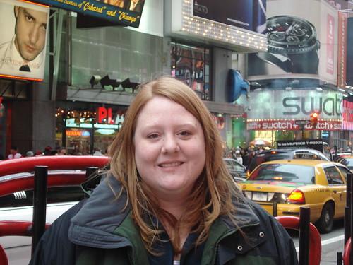 Sarah - Times Square - NYC