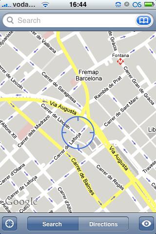 Locate Me en Google Maps
