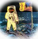 Andy Warhol, Moonwalk (caminante lunar). 1987.