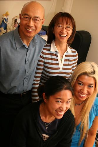 Wong family - Hugh, Winnie, Brenda, Amy