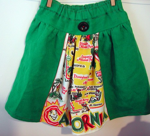 California Fun skirt