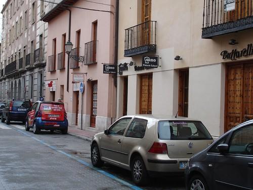Calle Carmen Calzado en la actualidad
