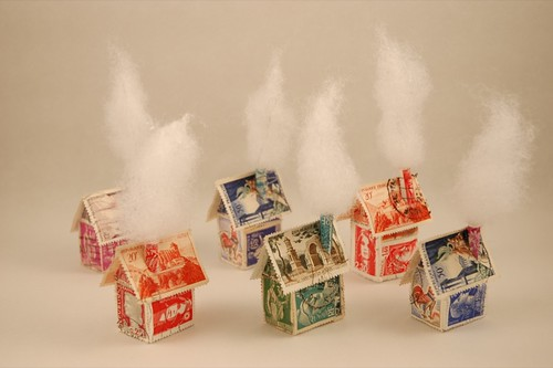 Little Stamp houses