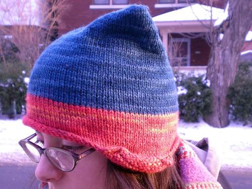 Me in my helmet hat