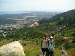 Desde algún cerro en Acapulco
