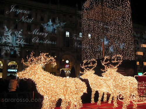 Piazza del Duomo, Milan, Christmas 2007