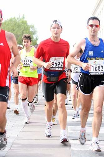 Corriendo el maratón de Madrid