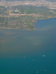 Montréal et le fleuve Saint Laurent