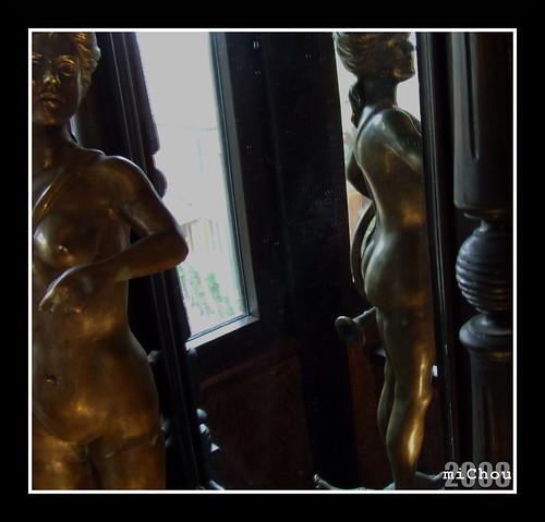 Nud în oglindă