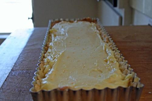 Fresh Orange Cream Tart