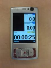 Sports Tracker on N95