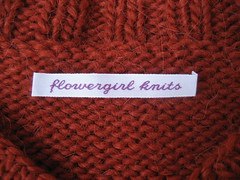 Label on Cozy V Neck
