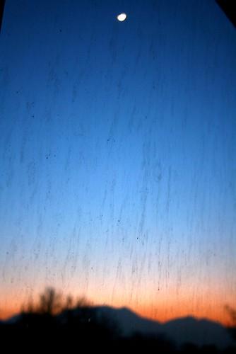 twilight with the moon flickr hamesha safrang