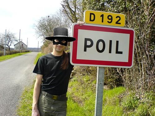 Le Berrichon masqué à Poil (dans la Nièvre)