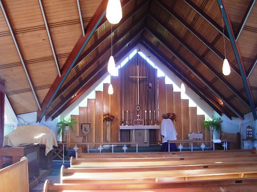 Inside Liberal Catholic Church of St Francis, Auckland