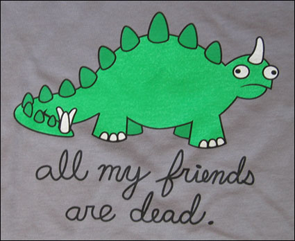 Camiseta - All my friends are dead