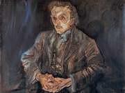 Oskar Kokoschka. Adolf Loos. 1909.
