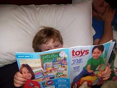 Judah's Bedtime Reading
