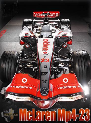 McLaren Mercedes Mp4-23