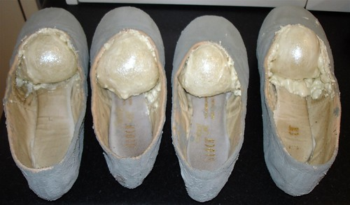 Ballet shoe WIP