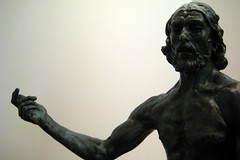 NYC - MoMA: Auguste Rodin's St. John the Bapti...