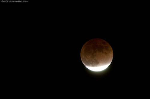 moon eclipse at -25°C