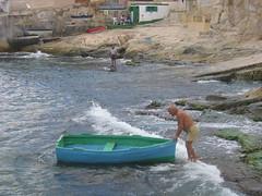 A Maltese fisherman
