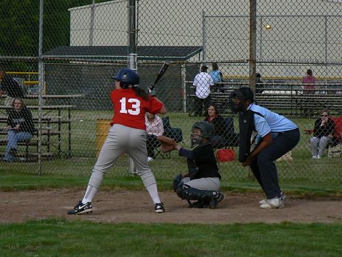 Kristen Teleha batting