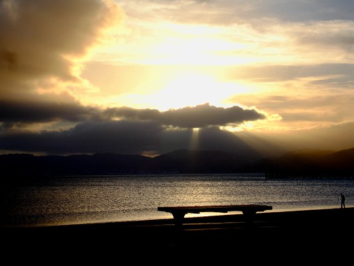 Petone Beach Sunset