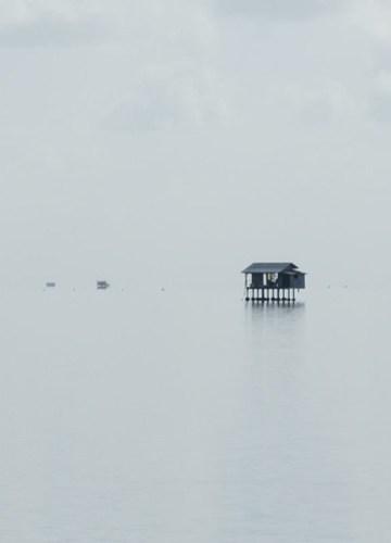 house on the sea