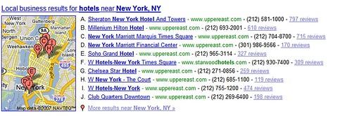Mapspam on Google