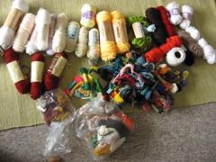 thrifted yarn