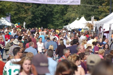 Crowds at Fall for Greenville
