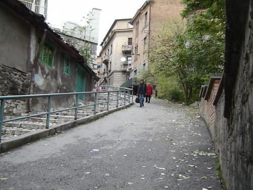 Strada pietonala in Sarajevo