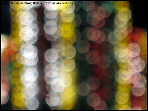 Light abstract II by Gaurav Dhwaj Khadka
